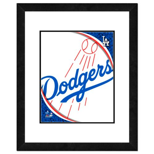 Los Angeles Dodgers Framed Logo