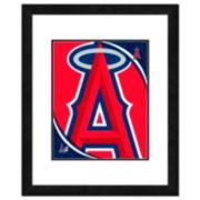 Los Angeles Angels of Anaheim Framed Logo