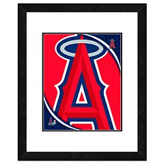 Los Angeles Angels of Anaheim Framed Logo