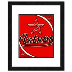 Houston Astros Framed Logo
