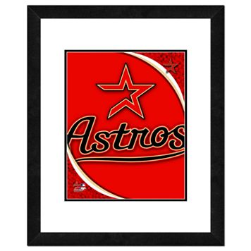 Houston Astros Framed Logo