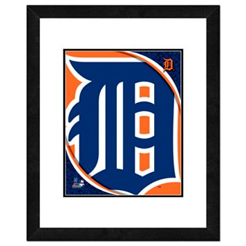Detroit Tigers Framed Logo