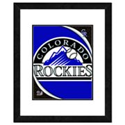 Colorado Rockies Framed Logo