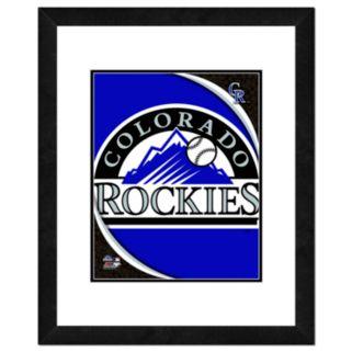 Colorado Rockies Framed Logo