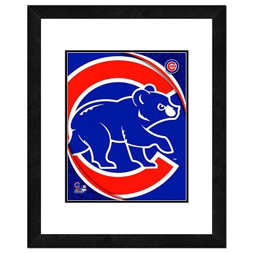 Chicago Cubs Framed Logo