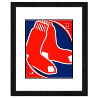 Boston Red Sox Framed Logo