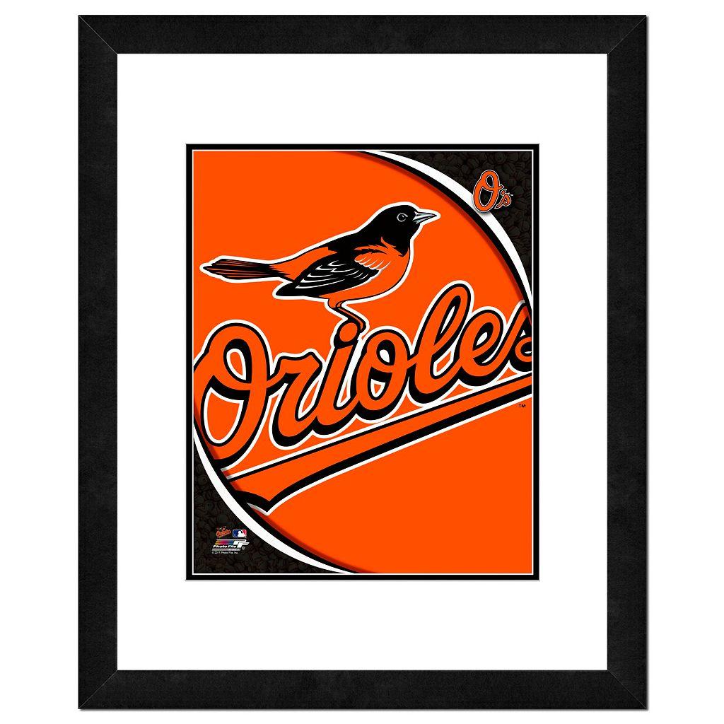 Baltimore Orioles Framed Logo