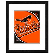 Baltimore Orioles Framed Logo