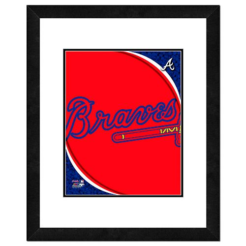 Atlanta Braves Framed Logo