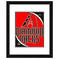 Arizona Diamondbacks Framed Logo