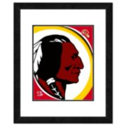 Washington Redskins Framed Logo