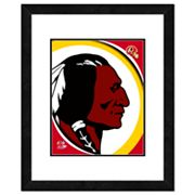 Washington Redskins Framed Logo