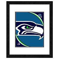 Seattle Seahawks Framed Logo