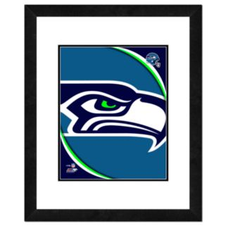 Seattle Seahawks Framed Logo