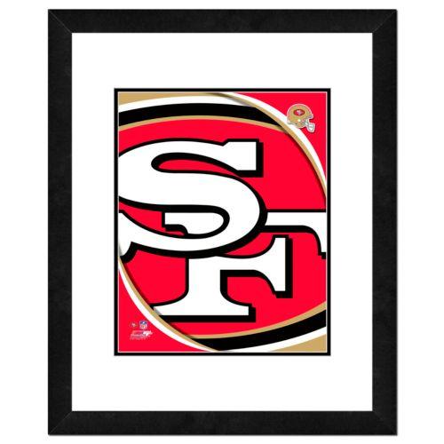 San Francisco 49ers Framed Logo