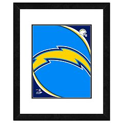 San Diego Chargers Framed Logo