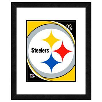 Pittsburgh Steelers Framed Logo
