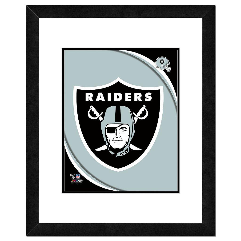 Oakland Raiders Framed Logo