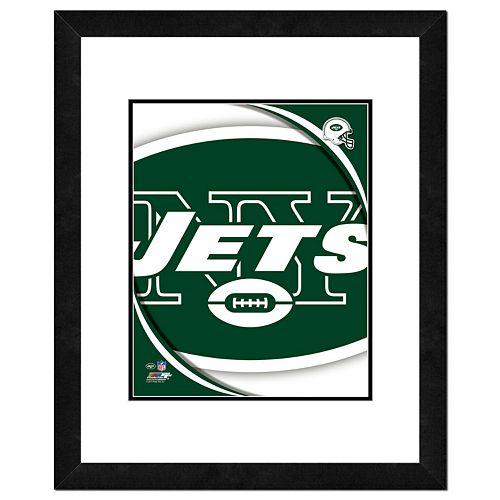 New York Jets Framed Logo