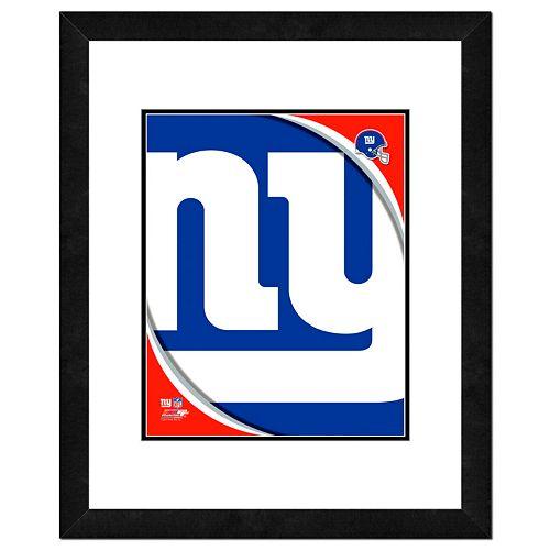 New York Giants Framed Logo