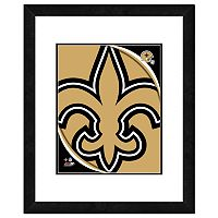New Orleans Saints Framed Logo