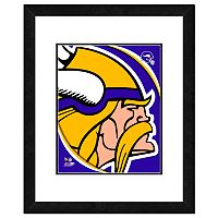 Minnesota Vikings Framed Logo