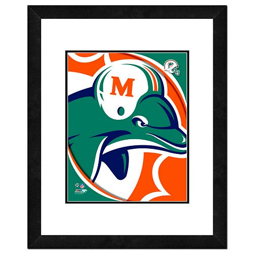 Miami Dolphins Framed Logo