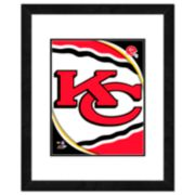 Kansas City Chiefs Framed Logo