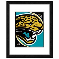 Jacksonville Jaguars Framed Logo