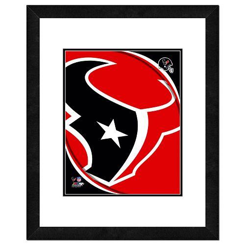 Houston Texans Framed Logo