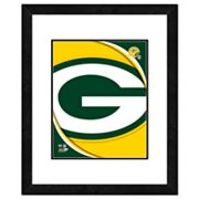 Green Bay Packers Framed Logo
