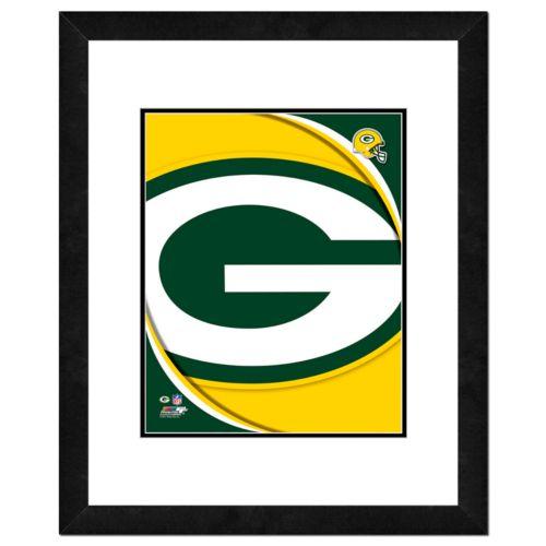 Green Bay Packers Framed Logo