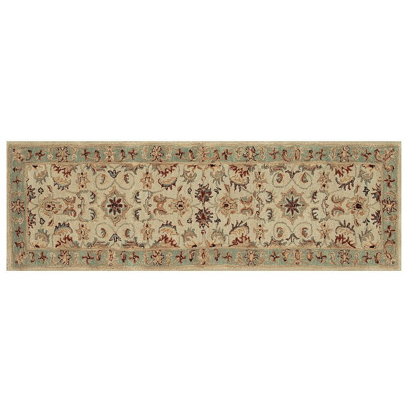 Loloi Maple Traditional Floral Rug Runner- 2'3'' x 8'