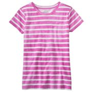 SO Striped Acid Wash Tee - Girls Plus