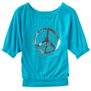 Mudd Peace Top - Girls Plus