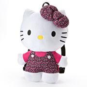 Hello Kitty Leopard Plush Backpack - Girls