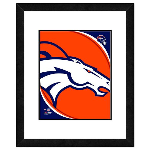 Denver Broncos Framed Logo