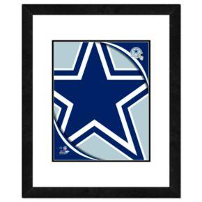 Dallas Cowboys Framed Logo