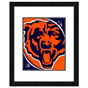 Chicago Bears Framed Logo