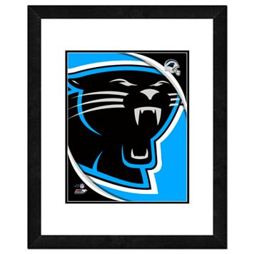 Carolina Panthers Framed Logo