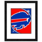 Buffalo Bills Framed Logo