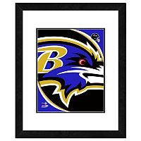 Baltimore Ravens Framed Logo
