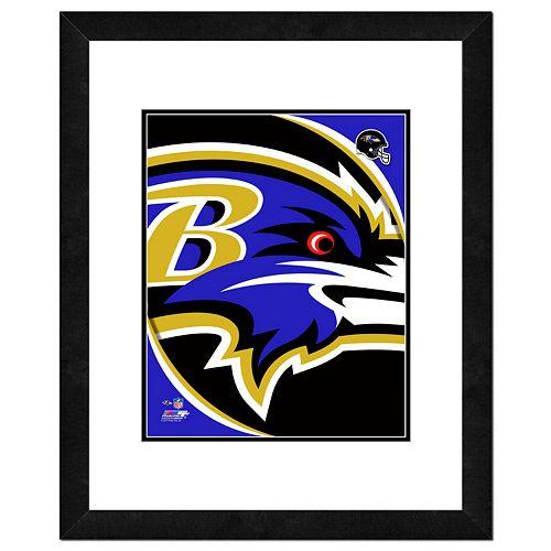 Baltimore Ravens Framed Logo