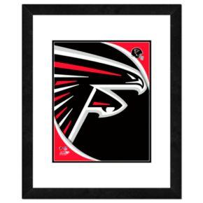Atlanta Falcons Framed Logo