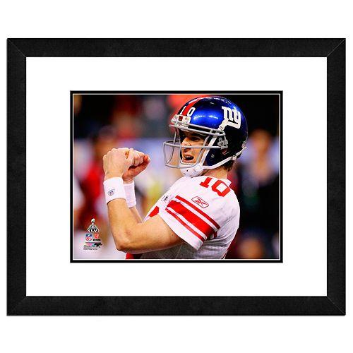Eli Manning Framed Player Photo
