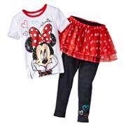 Disney Mickey Mouse and Friends Minnie Mouse Tutu Pajama Set - Toddler