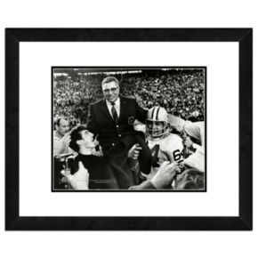 Vince Lombardi Framed Coach Photo