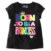 Jumping Beans Born to be a Princess Tee - Toddler