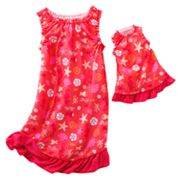 Jumping Beans Shell Nightgown - Girls 4-7