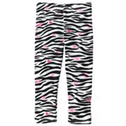 Jumping Beans Zebra Leggings - Toddler